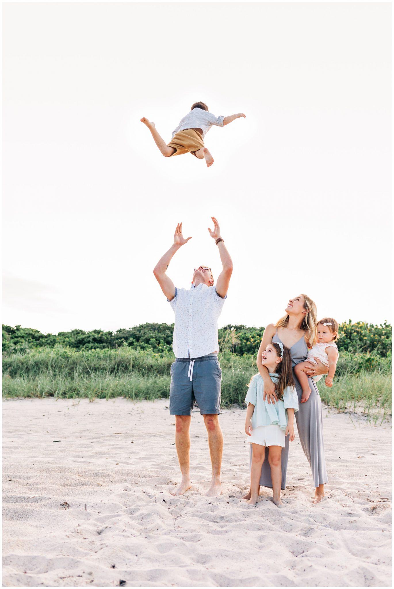 Family Photography at Ocean Ridge Hammock Park